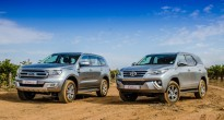 So sánh Ford Everest vs Toyota Fortuner